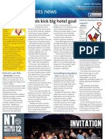Business Events News for Wed 03 Oct 2012 - Footy fever, Aria, EEAA, Athens, Karen Bolinger and more