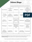 DebateFest Bingo 04