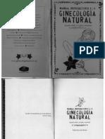 MANUAL DE GINECOLOGIA NATURAL