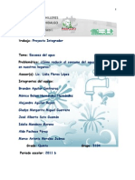 Proyecto Reciclaje Agua Medium Escrito