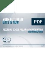 Gat3 Application