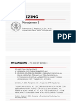 Manajemen-1 Fungsi Organizing