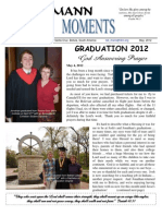 Mann Moments May 2012 Newsletter