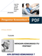 SKOM4328 #1 - Komunikasi Efektif dan Transaksi