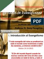 Metodos de Evangelismo