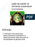 Promoção da saúde no desenvolvimento sustentável1