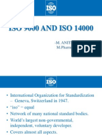 International Organisation for Standards (ISO)