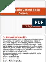 Clasificación General de los Aceros