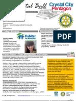 October 03, 2012 Weekly Bulletin - Crystal City-Pentagon Rotary Club