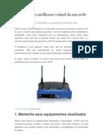 10 Dicas Para Melhorar o Sinal Da Sua Rede WiFi