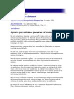 Apuntes Para Entornos Presentes en Internet
