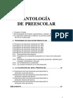 ANTOLOGÍA DE PREESCOLAR