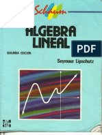 Algebra Lineal-Seymour Lipschutz- Schaum-2 Edicion(Alta Calidad)4.0