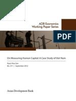 On Measuring Human Capital