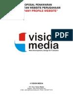 Proposal Pembuatan Corporate Website - Company Profile Website