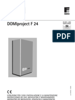 Ferroli Manual Domiprojectf24