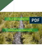 Hidrocidio en Cajamarca