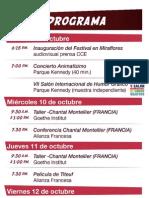 Programa Mundo Viñeta 2012