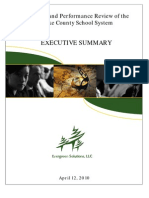 Evergreen Solutions Executive Summary - Bcps April 12 2010