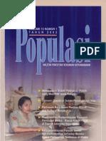 Populasi Volume 13, Nomor 1, Tahun 2002