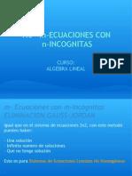 Ecuaciones y Sistemas Homogenos