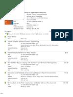 Software Engineering for Experimental Robotics - Davide Brugali Et Al