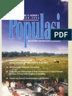 Populasi Volume 15, Nomor 1, Tahun 2004