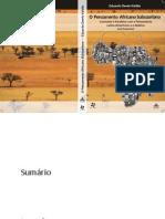 Eduardo Devés-Valdez - O pensamento africano subsaariano
