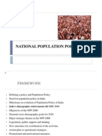 National Population Policy Ppt