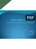 Spin Valve Transistor