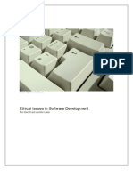 Ethical Issues in Software Development