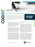 Innovation Imperatives for Financial Services