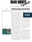 Human Rights update 2011 - January