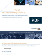 Using Liferay Portal as an E-Learning Platform