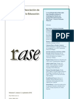 RASE Vol 5, núm 3, septiembre 2012