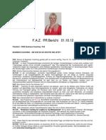 PR Bericht Neu FAZ