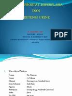 Powerpoint Retensi Urine n BPH