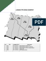 Peta Lokasi Tps Desa