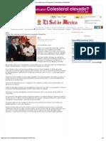 27-09-2012 El Sol de Mexico - Puebla, líder nacional en el Programa Comunidades Saludables