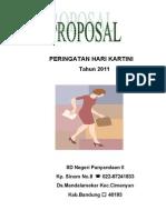 Proposal Hari Kartini