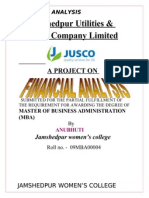 A Project on Financial Analysis (1)