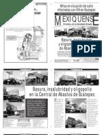 Versión impresa del periódico El mexiquense 3 de octubre 2012