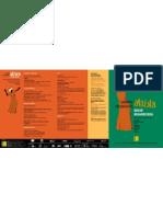 """Jornadas """"Al Sur del Sáhara. África Imprescindible"""" Programa 2006"""