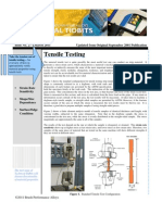 Issue No 27 - Tensile Testing