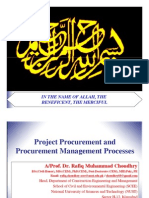 Introduction to Project Procurement