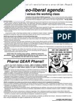 Van Der Walt - Gear Versus Working Class - Zab 1, 2001