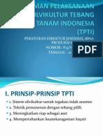 Materi Presentasi Pedoman Pelaksanaan Tpti