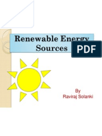 Renewable Energy Sources N