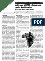 Van Der Walt - Political Significance of NEPAD - Zab 5, 2004