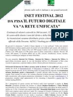 CS Internet Festival Diretta